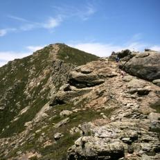 Climbing Up Liberty Mtn