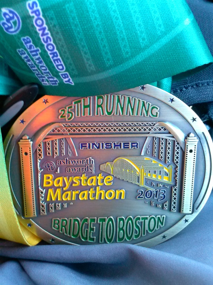 Bay State Finisher Medal