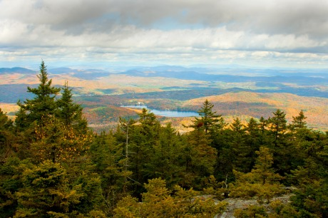 The landscape surrounding Mt. Kearsarge is especially lovely in the Fall.